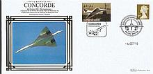 Benham Concorde Covers Collection. Set 3. Nice little lot consisting of fi