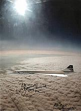 Mike Bannister, Chief Concorde Pilot and Photographer Adrian Meredith auto