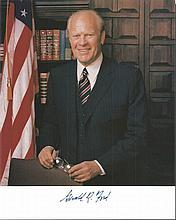 Gerald Ford signed 8x10 Photo.Good condition. All signed items come with