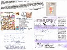 Very rare  signed Liberation of Burma FDC signed by two gallant Far East P