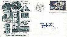 Julius Hatry signed FDC. He flew the first Rocket Propelled Aircraft in 1
