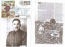 BRIGADIER JAMES MICHAEL 'MAD MIKE' CALVERT DSO WWII series FDC ' Victory O