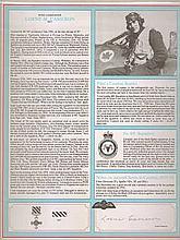 Wing Commander Lorne Cameron DFC Signature on Canadian Fighter Ace profile