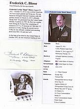 Major General Frederick C. 'Boots' Blesse USAF