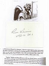 Lieutenant Russell L. Reiserer USN Signature on