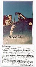 Lieutenant Eugene R. Hanks. Signed photograph of