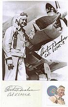 Colonel Archie Glenn Donahue USMC Signature on