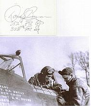 Captain Donald S. Bryan USAF Signature on card 13