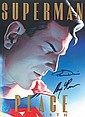 Superman Large DC graphic novel of Superman -Peace