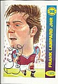Frank Lampard signed amusing caricature 8 x 6