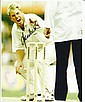 Shane Warne signed 10 x 8 colour cricket bowling
