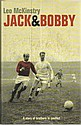 Jack and Bobby Charlton signed bookplate on inside
