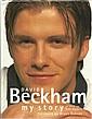 David Beckham signed bookplate on inside front