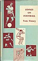 Tom Finney signed bookplate on inside front title