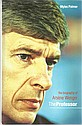 Arsene Wenger signed bookplate on inside front