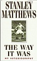 Stanley Matthews signed bookplate on inside front