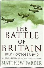 The Battle of Britain signed book July-October