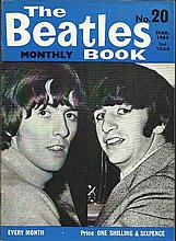 Beatles Monthly Book No 20 March 1965. Good