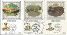 Unique World War Two Pilot signed covers collectio