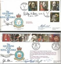 Squadrons of the RAF Cover Collection. 64 covers f
