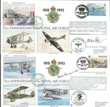 75th Anniversary of the Royal Air Force cover coll