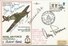 Adolf Galland, Assi Hahn and others signed RAF Spe
