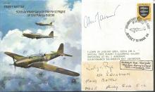 WWII veteran Rodney Rye signed cover. 1986 Fairey
