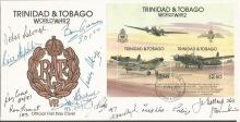 Typhoon and Tempest WWII veterans signed cover. Tr