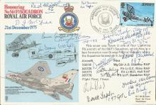 Typhoon and Tempest WWII veterans signed cover. No