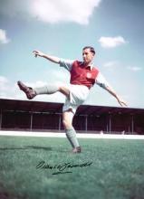 Frank O'Farrell autographed football photo. High q