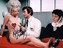 Barbara Windsor Signed 10 X 8 Signed photo. Good