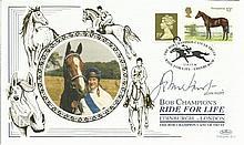 John Hurt signed Benham Bob Champion Ride For Life