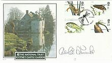 Charlie Dimmock signed Internetstamps 2001 Pond