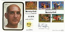 Ben Kingsley Signed Benham 1998 Christmas FDC