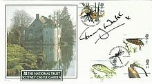 Tommy Walsh signed Internetstamps 2001 Pond Life