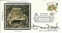 Biddie Baxter MBE signed Benham Small Silk British