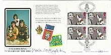 Valerie Singleton signed Benham Official 1997 BBC