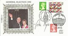 John Major signed Benham General Election 1992
