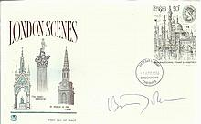 Boris Johnson signed 1980 London Scenes FDC Mayor