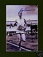 Roger Bannister Autograph. B/W signed photo