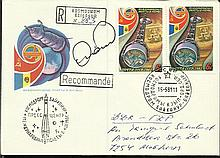 Cosmonaut signed 1981 Russian space cover signed