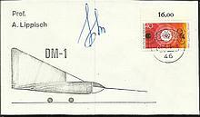 Cosmonaut signed Unusual 1973 Russian DM-1 orbital
