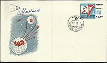 Cosmonaut signed 1964 Vostok 3 Russian space cover