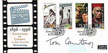 Tom Courtney signed 1996 New Zealand Centenary of
