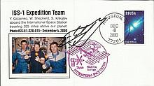 Cosmonaut signed 2000 US Space cover commemorating