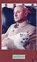 Donald Pleasence Signed Page James Bond 007 Pic