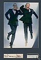 Morecambe & Wise Cut Sigs +Super Pic Display.