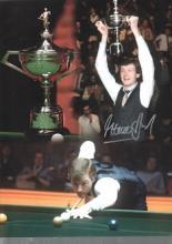 Steve Davis autographed high quality 16x12 inch sn