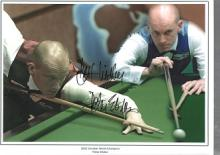 Peter Ebdon autographed high quality 16x12 inch sn