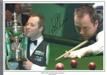 John Higgins autographed high quality 16x12 inch s